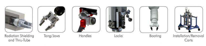 Telemanipulator Options & Accessories