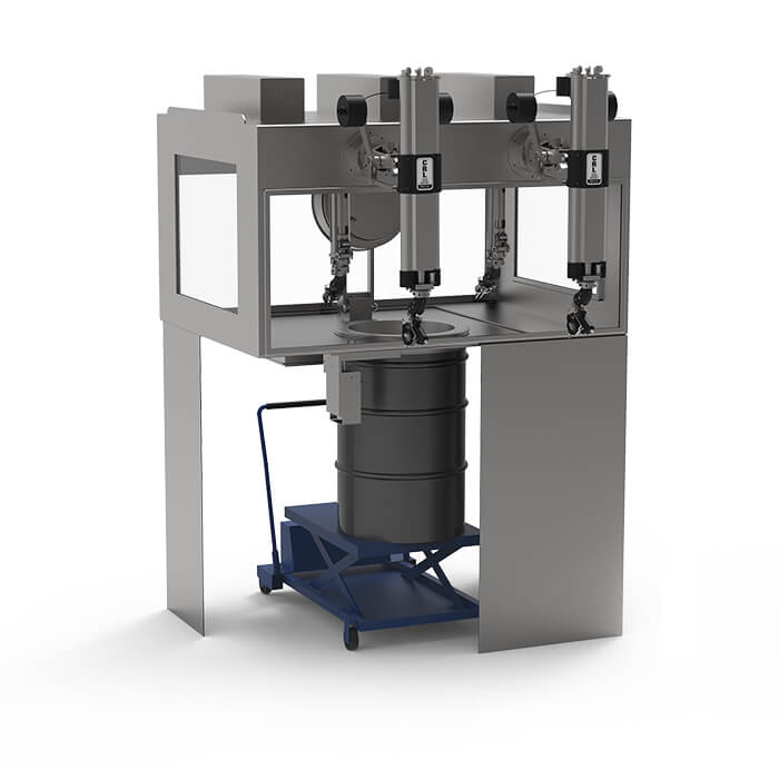 Waste Drum Transfer System