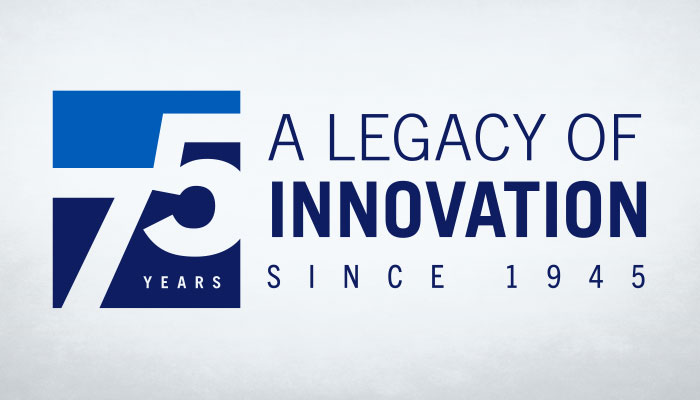 75 Years - A Legacy of Innovation