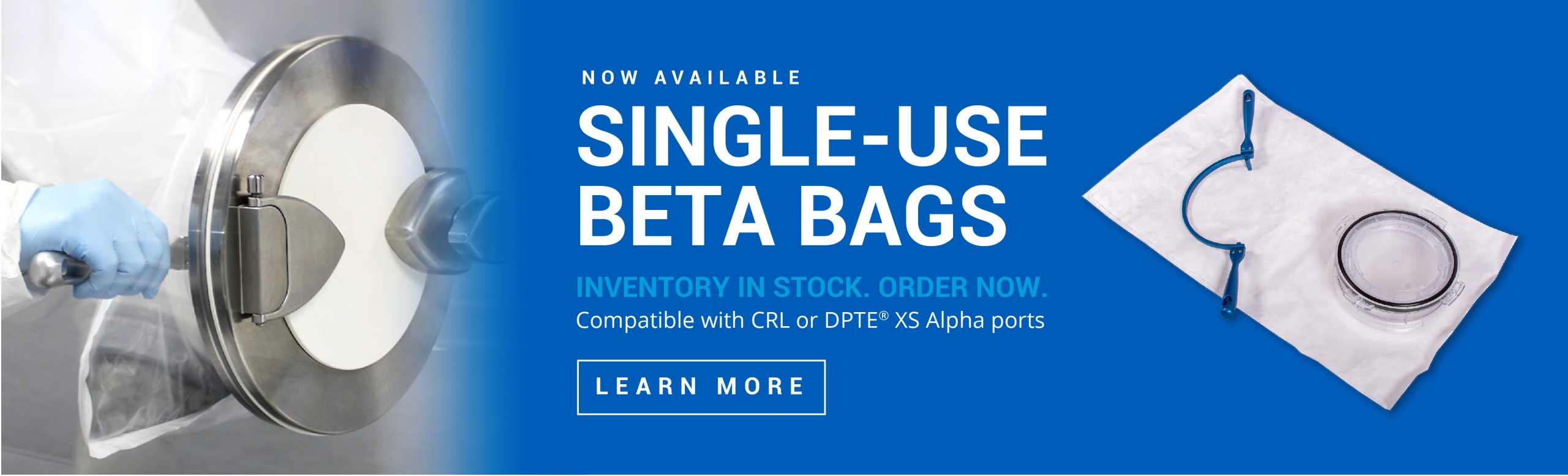 CRL Single-Use Beta Bag