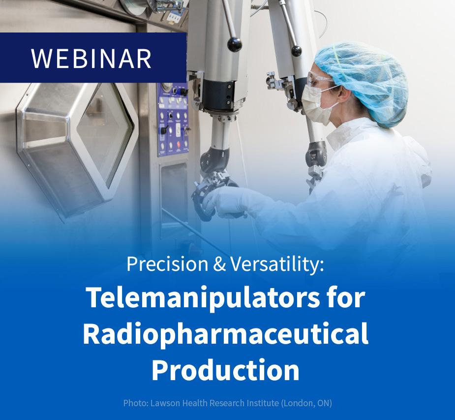 Telemanipulators for Radiopharmaceutical Production